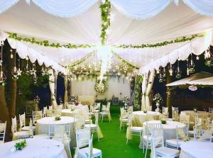 Rạp cưới đẹp tại phú mỹ