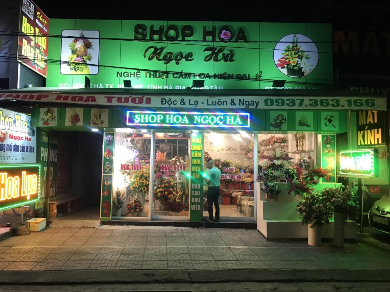 Shop hoa tươi ngọc hà phú mỹ