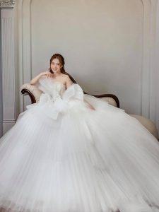 Cho thuê váy cưới đẹp giá rẻ tại phú mỹ