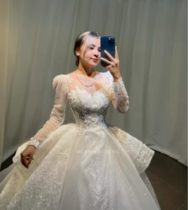 trang điểm cô dâu đẹp tại phú mỹ