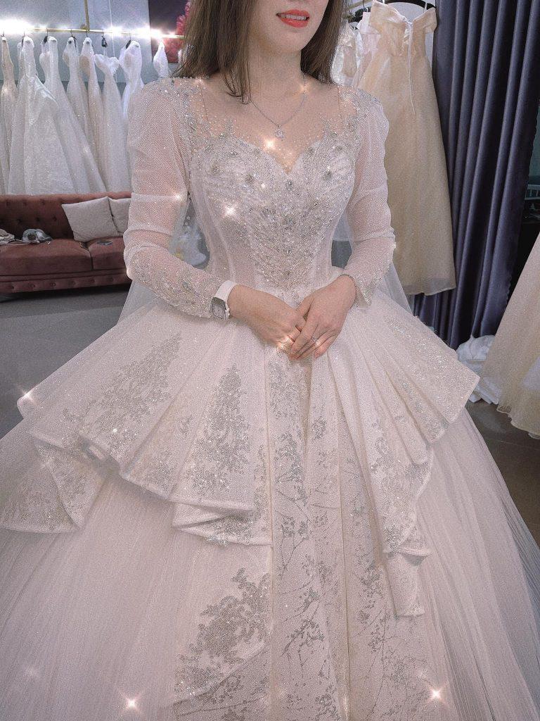 Váy cưới giá rẻ